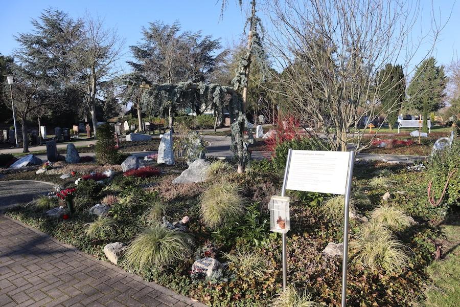 Friedhof Eggenstein - gärtnergepflegtes Grabfeld
