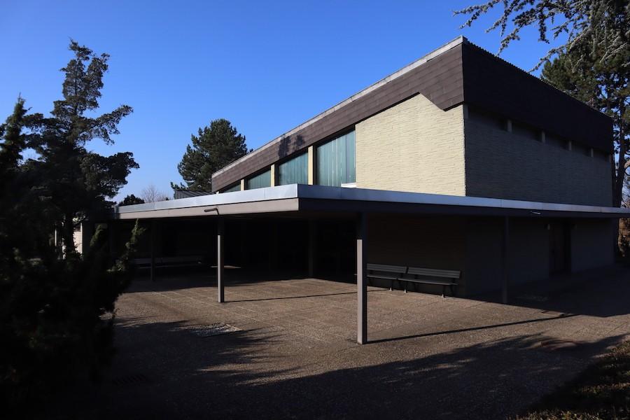Friedhof Eggenstein - Aussegnungshalle