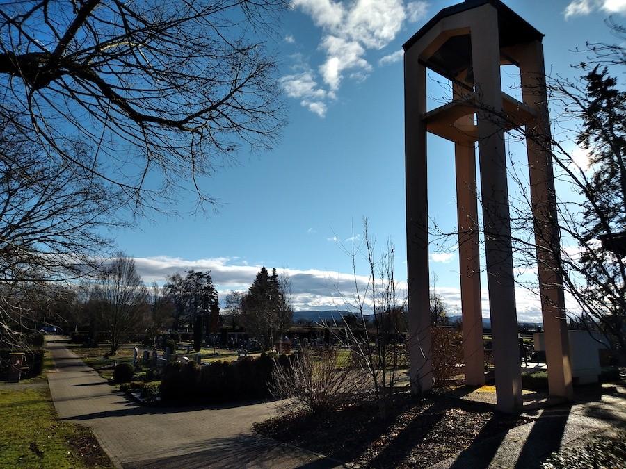 Friedhof Spöck - Glockenturm
