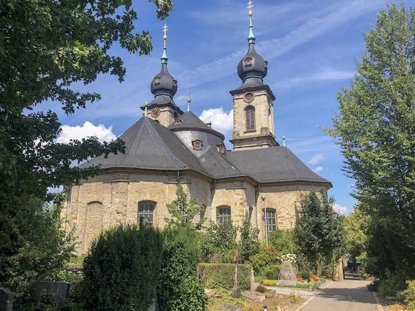 Friedhof Bruchsal Kirche