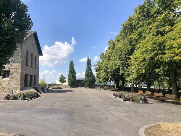 Friedhof Bruchsal Vorplatz