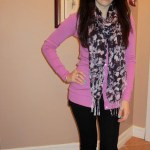 Outfit of the day: Bright colours on a rainy day!