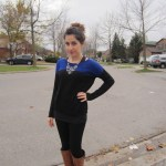 Outfit Of The Day: Leather and Sparkles