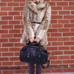 Outfit Of The Day: Faux Fur