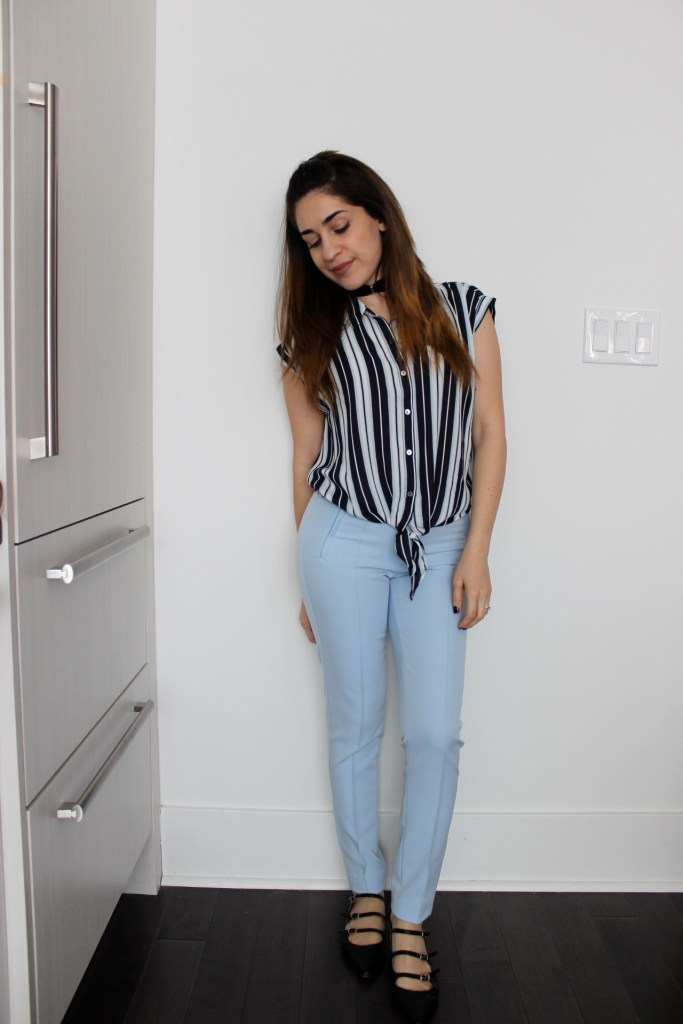Outfit: Shades of Blue