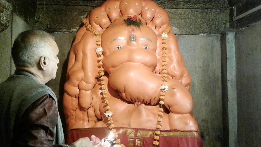 Bhrushundi Ganpati - Mendha, Bhandara