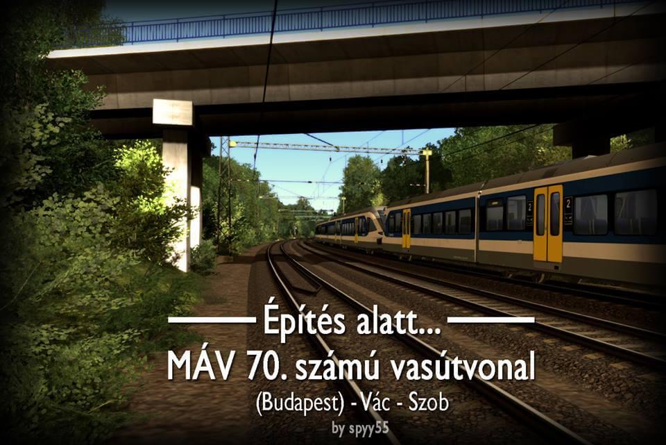 Train Simulator Vác