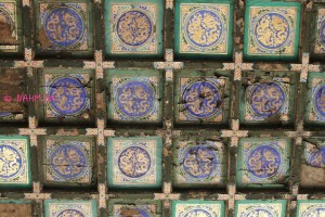 The Forbidden City (故宫) - Ceiling of Palace of Heavenly Purity