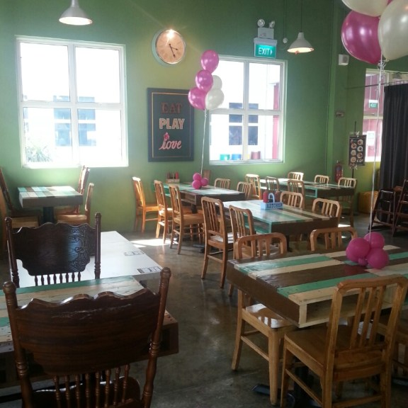 Eat Play & Love Cafe Interior
