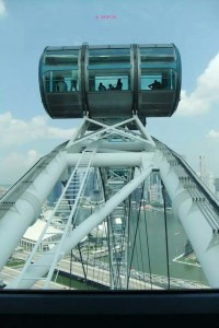 Singapore Flyer - Capsules on Flyer