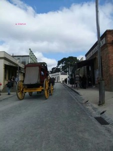Soverign Hill, Ballarat - Sovereign Hill - A view of a road
