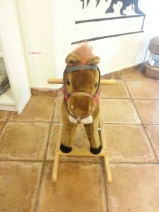 Yellow Cup Coffee - A Little Wooden Rocking Horse
