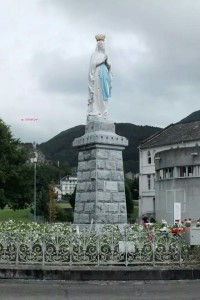 A Faith Tested Trip to Lourdes - Our Lady of Lourdes Statue