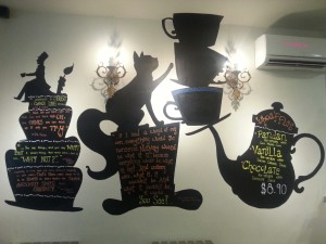 Hatter Street Bakehouse & Cafe - Wall Painting