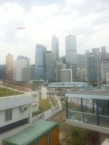My Last Day in Hong Kong in June 2014 - Taken From Central Pier Link