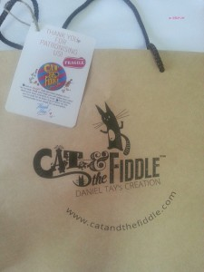 Cat and Fiddle - Paper Bag