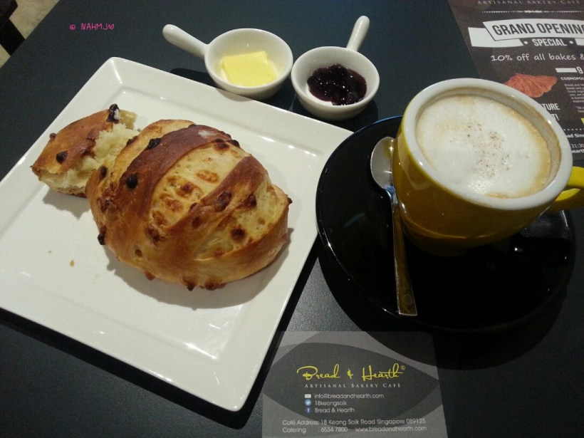 Bread & Hearth – My Breakfast, Chocolat Blanc with Cappuccino