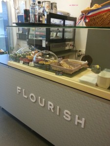Flourish Pastries - Another view of the counter