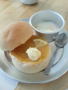 The Tastemaker Store - Lemon Curd + Clotted Cream Toast and Soft Boiled Eggs