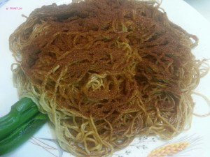 Day 1 In Hong Kong In July 2014 - Lau Sum Kee Noodle - Famous Har Zi Noodle