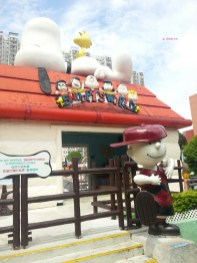 Day 1 In Hong Kong In July 2014 - Snoopy World, Charlie Brown