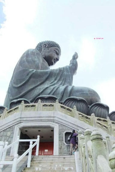 Day 3 Holiday In Hong Kong In July 2014 - Right Side View of Big Buddha
