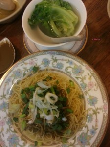 Bon Bon Cafe - Noodles with special Oyster Sauce