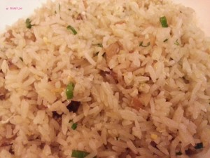 Xi Yan Sweets Restaurant - Lamma Island Fried Rice with Shrimp Paste and Salted Fish