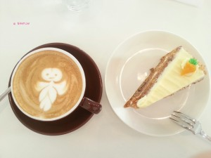 Whisk - My Order, Cappuccino & Carrot Cake
