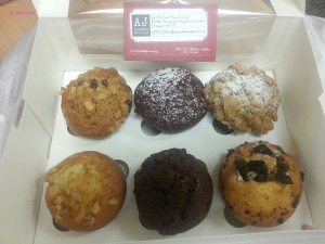AJ Delights - My 6s Muffins