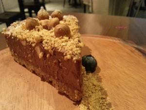 Froth - Nutella Cheesecake