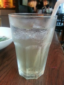 Xi Yan Shaw - Iced Lemongrass Drink