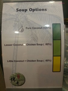 Chicken Legend - Soup Option