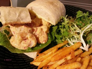 Brunches Cafe - Grilled Shrimp Sandwich