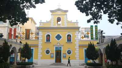 Macau Catholic Churches Mass Schedule - Church of St Francis Xavier (Coloane) 路環聖方濟各堂