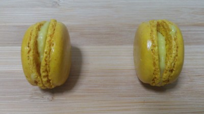 Macarons by Paul Bakery - Citron (Lemon) Macarons)