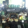 Necessary Provisions - Coffee Bar Counter and Cakes Display