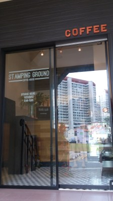 Stamping Ground Coffee House - The Entrance