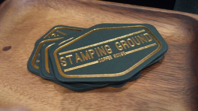 Stamping Ground Coffee House - Logo