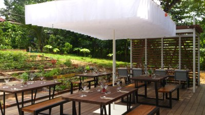 Open Farm Community Restaurant - Outdoor seating overview