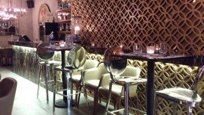 D' Bell Singapore - Bar Tables and Chairs on first floor