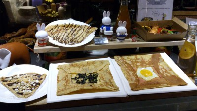 Papito's Kitchen - Crepes are also served