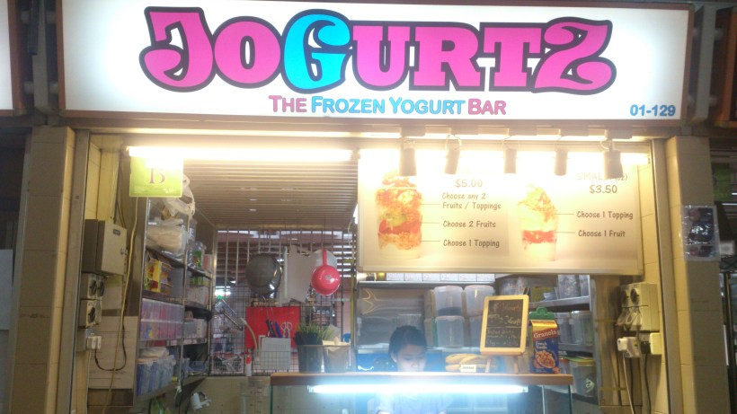 Jogurtz - Stall at Old Airport Food Centre