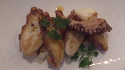 Una @ One Rochester - Grilled octopus