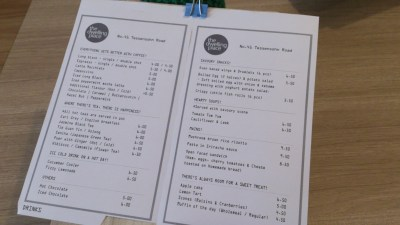 The Dwelling Place Cafe - Menu