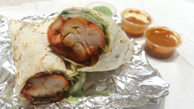 Roll Up - Chicken Tikka Kebab Roll
