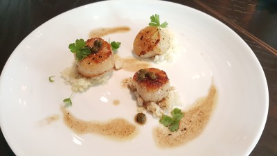 The Disgruntled Chef - Seared Scallops