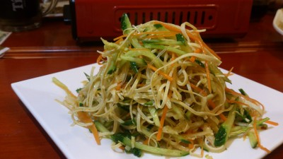 Restaurant Manchurian 满族全羊铺 - Home Made Bean Curd Noodles Salad