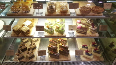 The Library Cafe - Cakes