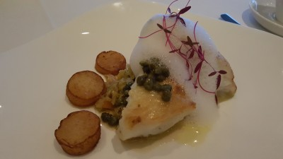 Stellar At 1-Altitude, Singapore Restaurant Week 2015 - Halibut